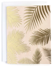 10ct Minted Carla San Roman San Francisco Gilded Palms Thank You Cards Envelopes
