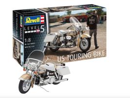 US Touring Bike Motorcycle 1/8 Revell Model Kit - $98.00