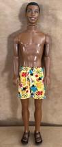 Vintage Brad African American ken doll Mattel Black beach bathing suit - $24.50