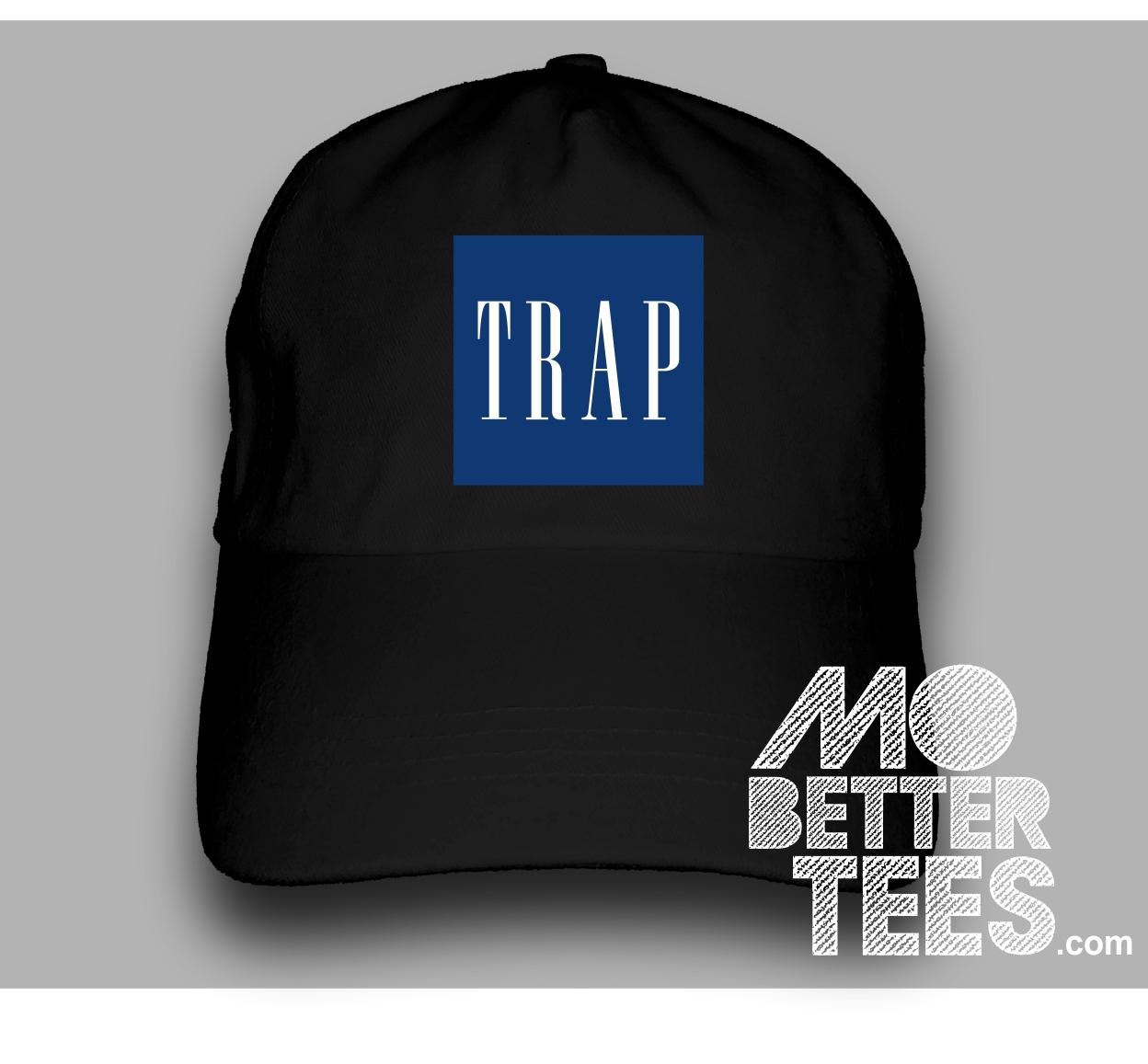 3cf92d581c0 TRAP RAP GAP dad hat come in black or white Flosstradamus edm Parody