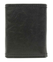 NEW LEVI'S MEN'S PREMIUM LEATHER CREDIT CARD ID WALLET TRIFOLD BLACK 31LP1122 image 2