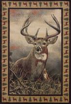 "8x11 (7'10"" x 10'6"") Lodge Deer Cabin Buck Antler Area Rug *FREE SHIPPING* - €312,99 EUR"