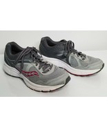 SAUCONY Womens Grid Cohesion Gray Pink 7.5 Running Athletic Shoes S15352-12 - $19.99