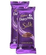 Cadbury Dairy Milk Silk Chocolate Bar, 60 grams (2.11 oz) - (Pack of 2) ... - $8.41