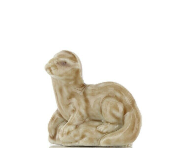 Wade Whimsie Miniature Porcelain American Otter