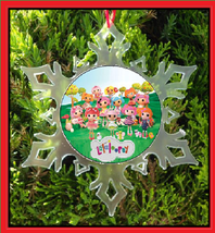 Lalaloopsy Christmas Ornament - X-MAS Snowflake Ornament - $12.95