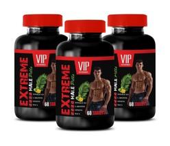 natural testosterone booster - EXTREME MALE PILLS 3B - tribulus terrestris maca - $36.42