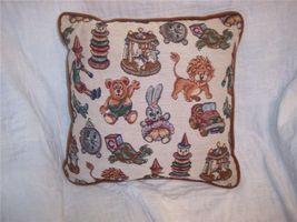 Toy Theme Print Decorative Pillow 15 x 15 - $14.14