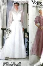 Vintage 16 Pattern V1024 Sassoon Bridal - $45.00