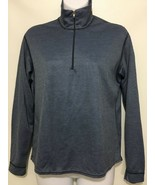 Patagonia Capilene Women M Blue Long-Sleeve Pullover Base Layer 1/2 Zip ... - $33.81