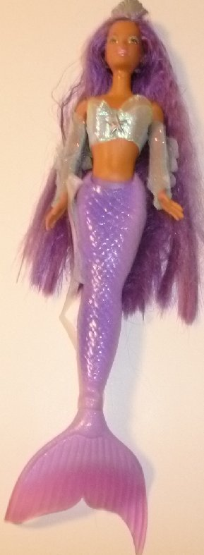 BARBIE AA black CHRISTIE Doll MERMAID FANTASY doll, long Purple Hair