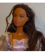 BARBIE AA black Doll as RAPUNZEL dressed fancy evening  - $44.49