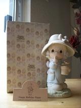 "1987 Precious Moments ""Happy Birthday Poppy"" Figurine  - $30.00"
