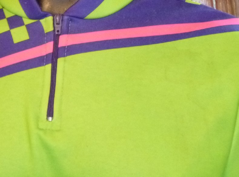Colorful Bicycle CYCLING cotton blend Jersey size 3 made in Italy