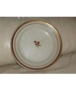 Ironstone Dinner Plate Copper Tea Leaf Antique - $20.00