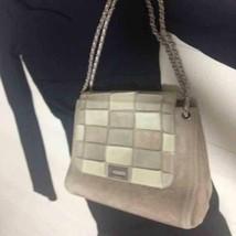 Auth CHANEL Matelasse Chocolate Bar Suede Shoulder Bag Flap B1813 - $1,216.07