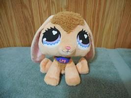 """LPS Littlest Pet Shop Bunny Rabbit Plush 8"""" Sitting - $9.89"""