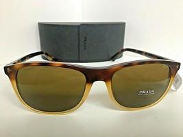 New Prada 0R P1 Journal Plastic Tortoise Frame Men's Sunglasses Italy - $249.99