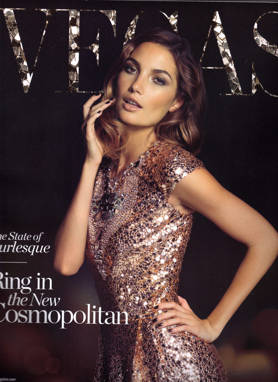 Primary image for LILY ALDRIDGE @ VEGAS Magazine Dec 2010 -Jan 2011 Issue