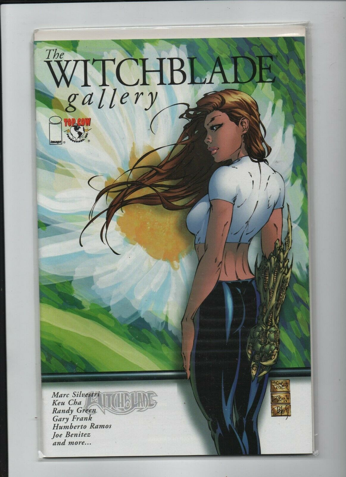 Primary image for The Witchblade Gallery #1A - Top Cow / Image Comics - Marc Silvestri, Keu Cha.