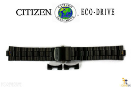 Citizen Eco-Drive CA0435-51E 22mm Black Ion Plated Stainless Steel Watch... - $129.95