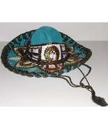 Vtg JU-LA PIGALLE SOMBRERO hat colorful sequins Mexico - $114.99