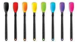 Supoon Mini Sit Up Raspado Cuchara Colores Surtidos Silicona - $9.49