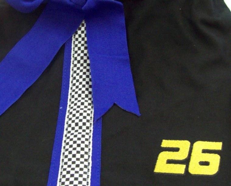 NEW NASCAR #26 JAMIE McMURRAY HANDBAG PURSE TOTE WITH CHECKERBOARD LINING