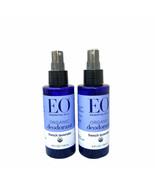 EO Essential Oils French Lavender Organic Deodorant Spray 4oz X 2 Bottles - $25.24