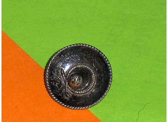 Vintage Mexican Sterling 3D Sombrero Brooch Eagle Mark 1