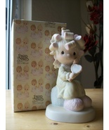 """1982 Members Only Precious Moments """"Smile, God Loves You"""" Figurine  - $75.00"""