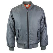 Men's Premium Multi Pocket Water Resistant Padded Zip Up Flight Bomber Jacket image 13