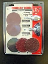 Porter Cable 29545 8 Piece Quik-Change Sanding / Finishing Surface Prep Set - $27.72