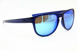 NEW OAKLEY SLIVER OO9342-09 BLUE AUTHENTIC SUNGLASSES OO 9342 FRAME 57-17 - $66.45
