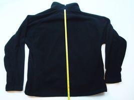 Mcafee Virus Reißverschluss Fleece Jacket Landmark Schwarz Größe L Herren T71 image 4