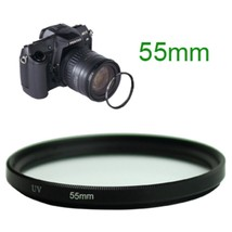 55mm UV Ultra Violet Camera Lens Filter - $4.94