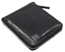 Tommy Hilfiger Men's Leather Zip Around Wallet Passcase Billfold Rfid 31TL130047 image 7