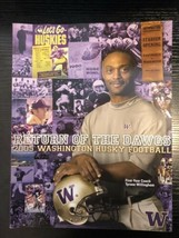 2005 WASHINGTON HUSKIES UW FOOTBALL MEDIA GUIDE Tyrone Willingham - $6.99