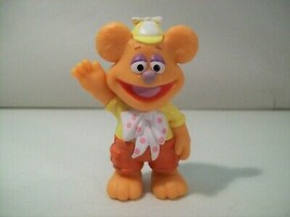 Nwob Disney Junior Muppet Babies Fozzie Bear Pvc Figure New Loose 2018 - $12.69
