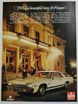 1973 Print Ad The 1974 Dodge Monaco 2-Door Car Luxury & Comfort - $12.73