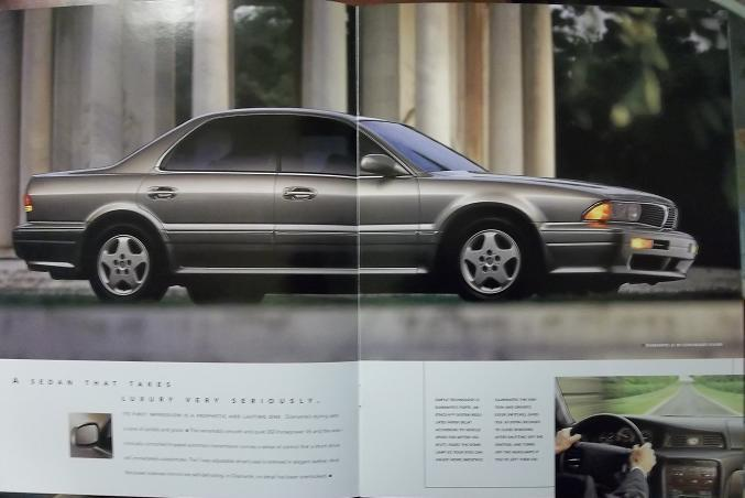 1996 Mitsubishi Diamante Brochure