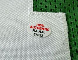 BRETT FAVRE / NFL HALL OF FAME / HAND SIGNED GREEN BAY PACKERS CUSTOM JERSEY COA image 5