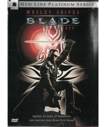 Blade DVD, 1998, Platinum Edition Wesley Snipes Half Breed Vampire Hunte... - $6.92