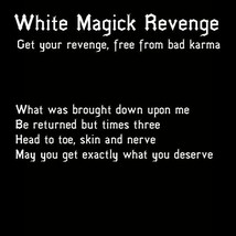 300x FULL COVEN WHITE MAGICK REVENGE WITHOUT CONSEQUENCES MAGICK Witch C... - $337.77