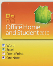 Microsoft Office 2010  Home & Student (key card) w/disc  Free Shipping! - $57.88