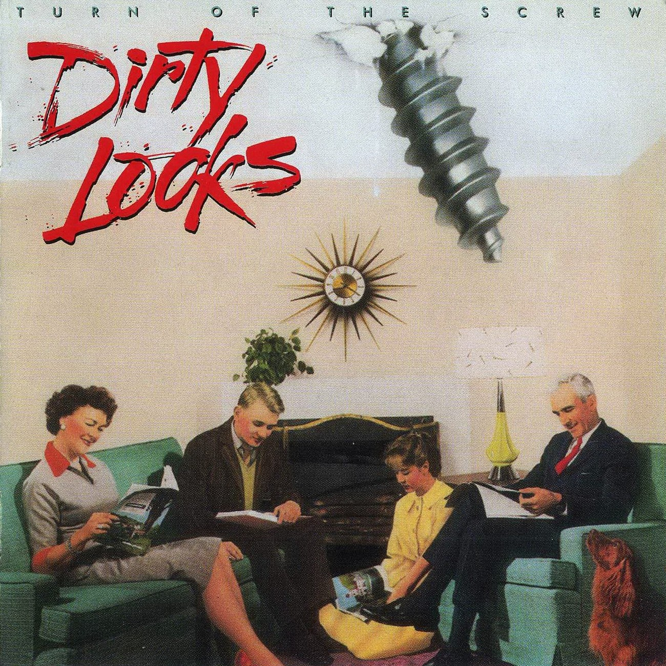 allcdcovers  dirty looks turn of the screw 1989 retail cd front 1