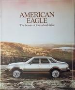 1980 AMC Eagle Brochure - $10.00