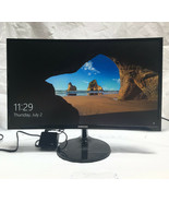 """Samsung 24"""" Curved LED Monitor with HDMI & D-Sub Inputs in Black, LC24F3... - $164.43"""