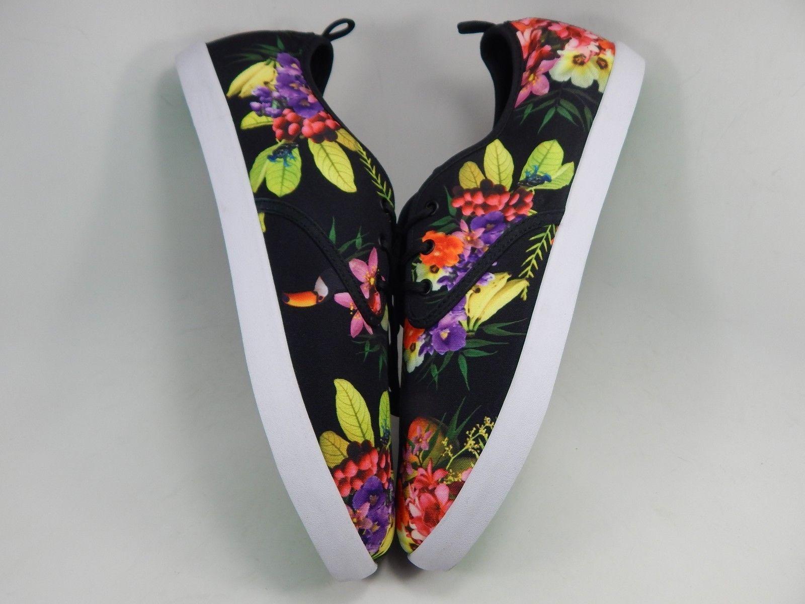 Sanuk Guide Funk Lace Up Men's Casual Shoes Size 8.5 M (D) Black / Amazon Tropic
