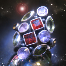 HAUNTED RING ALEXANDRIA'S RICHES AT YOUR FEET HIGHEST LIGHT COLLECT OOAK... - $3,840.31